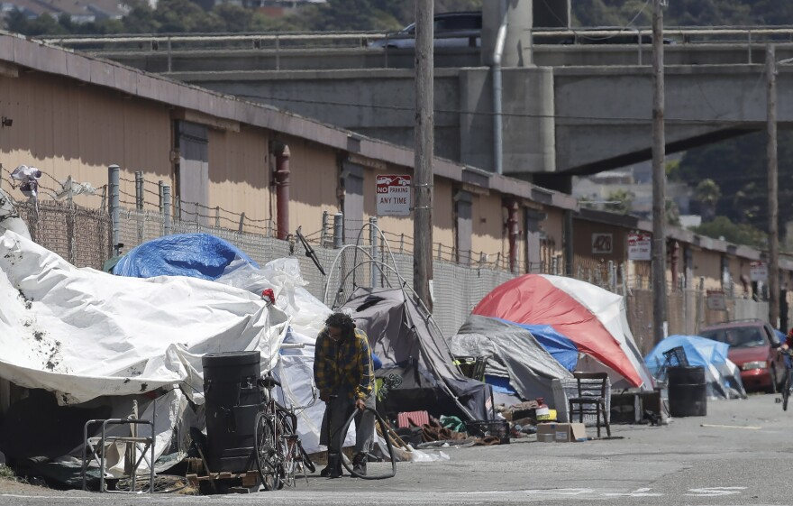 San Francisco, like many places across the West, face a growing homelessness crisis.