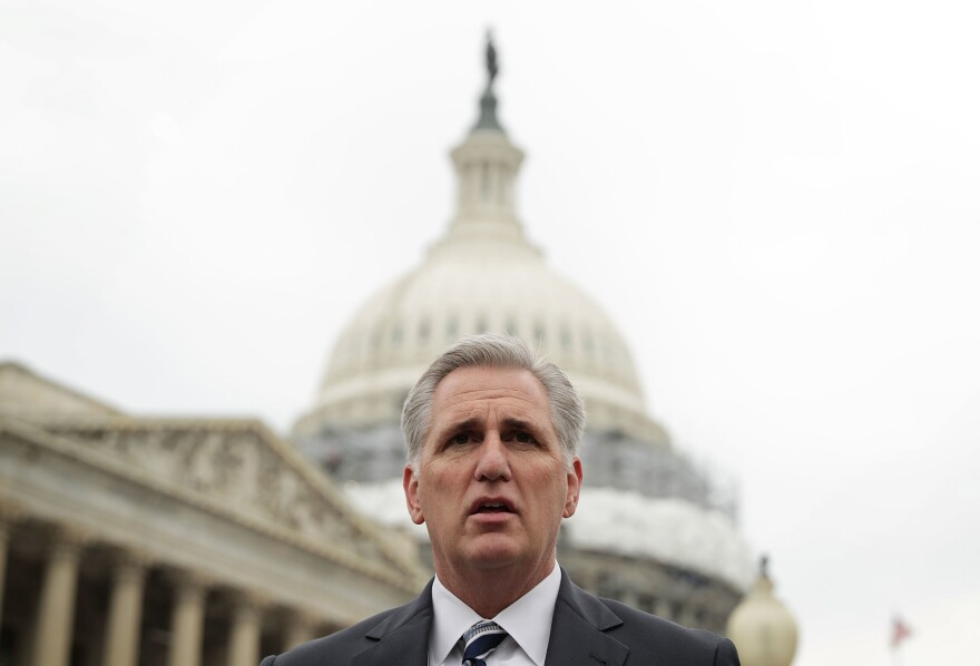 House Majority Leader Rep. Kevin McCarthy, R-Calif., is part of the Republican leadership working to repeal the Affordable Care Act as quickly as possible in January.