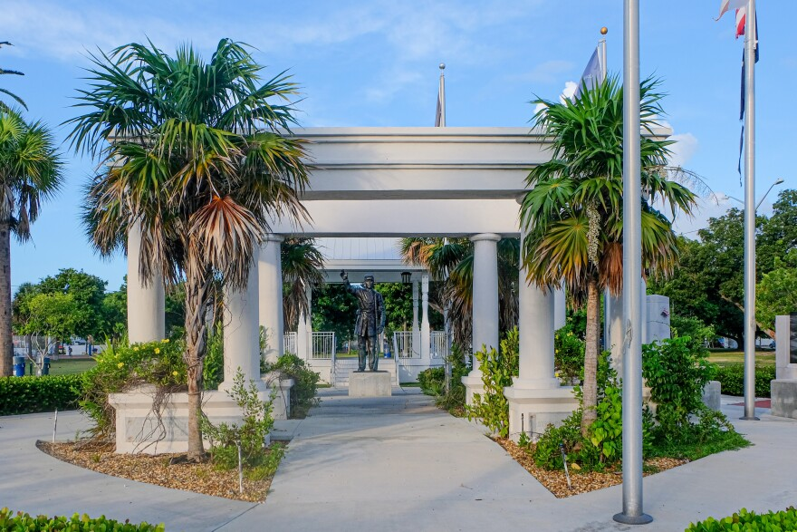 A pavilion honoring the Confederacy has been in a Key West park since 1924. Now it could be dedicated to a new cause.