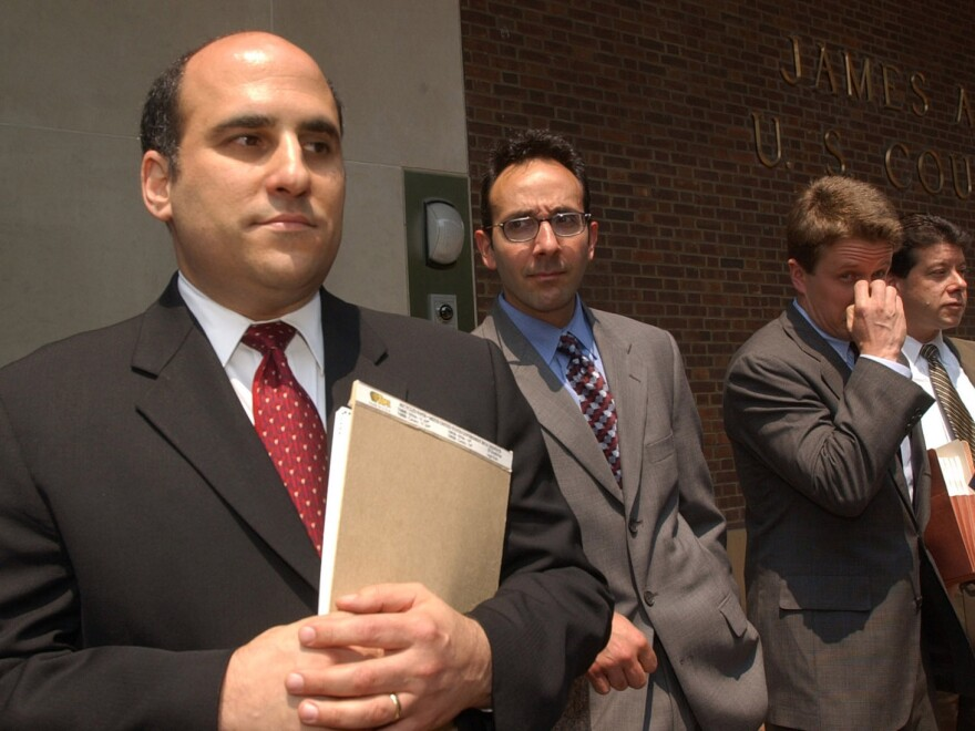 Prosecutor Robert Zauzmer (left) from the U.S. attorney's office in Philadelphia will head up the Justice Department's effort on pardons.