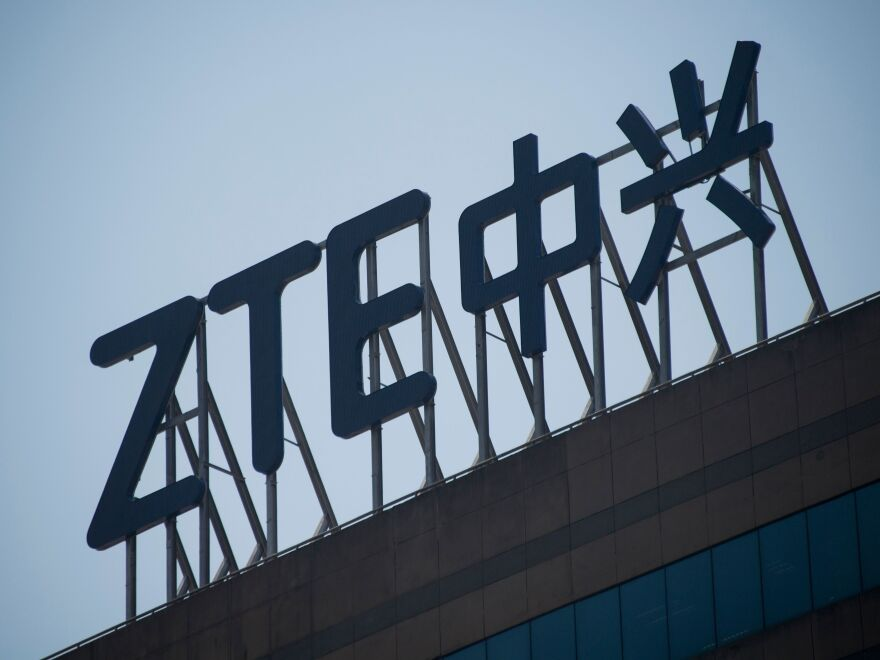 Commerce Secretary Wilbur Ross announced a deal with Chinese telecommunications company ZTE amid U.S.-China trade tensions.