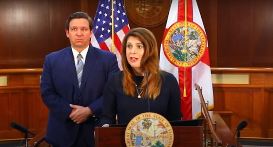 Judge Jamie Grosshans was picked by Governor Ron DeSantis as the newest Florida Supreme Court Justice September 14, 2020