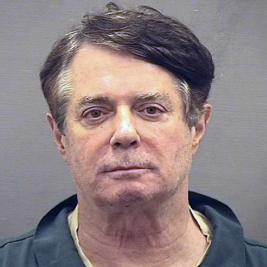 Former Trump campaign chairman Paul Manafort is awaiting sentence following a conviction and a guilty plea. The president hasn't ruled out a pardon for him or others.