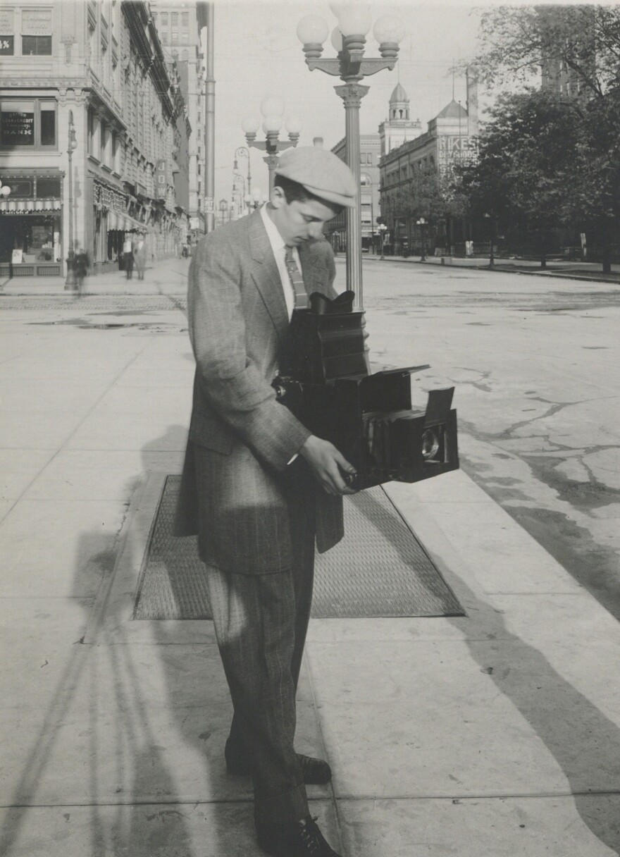 William Preston Mayfield learned to take photographs when he was nine and became one of Dayton's most famous photojournalists.