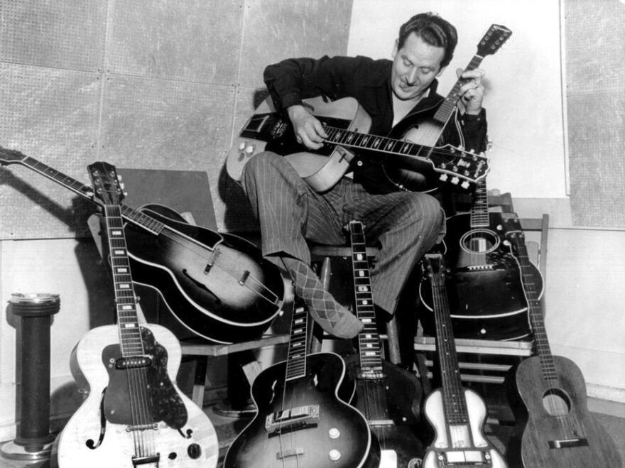 Les Paul's career as a guitarist and innovator led him to play jazz, pop and country with other legendary musicians for decades.