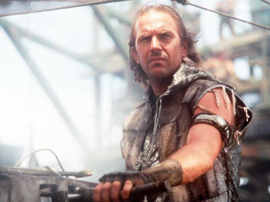 """If you're a fan of <em>Waterworld</em>, then the vision of the future in the Civilization II game played by """"Lycerius"""" may be to your liking. (Kevin Costner in a scene from that 1995 movie.)"""