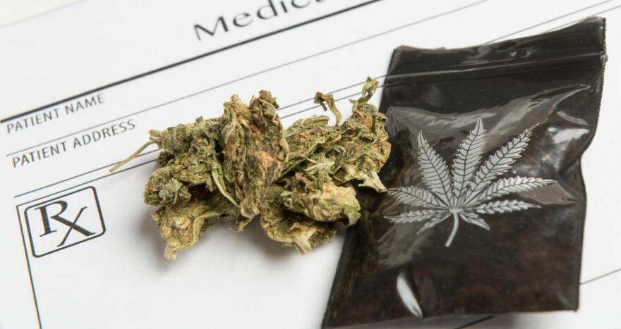 Photo of medical marijuana