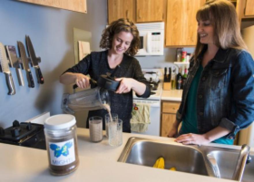 Researchers at CSU test milkshakes mixed with cricket flour.
