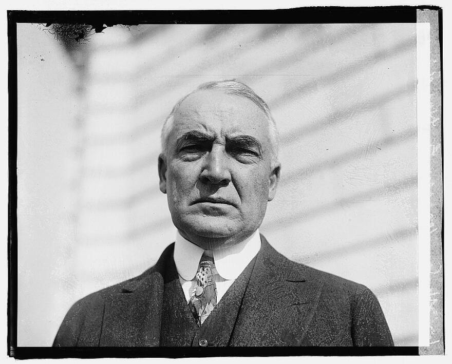 A picture of President Warren G. Harding circa 1919.