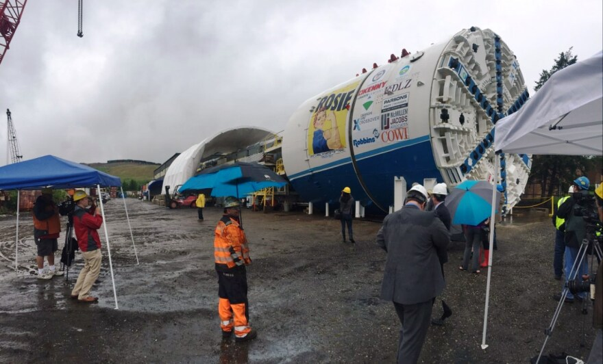 photo of Tunnel Boring Machine Known As Rosie