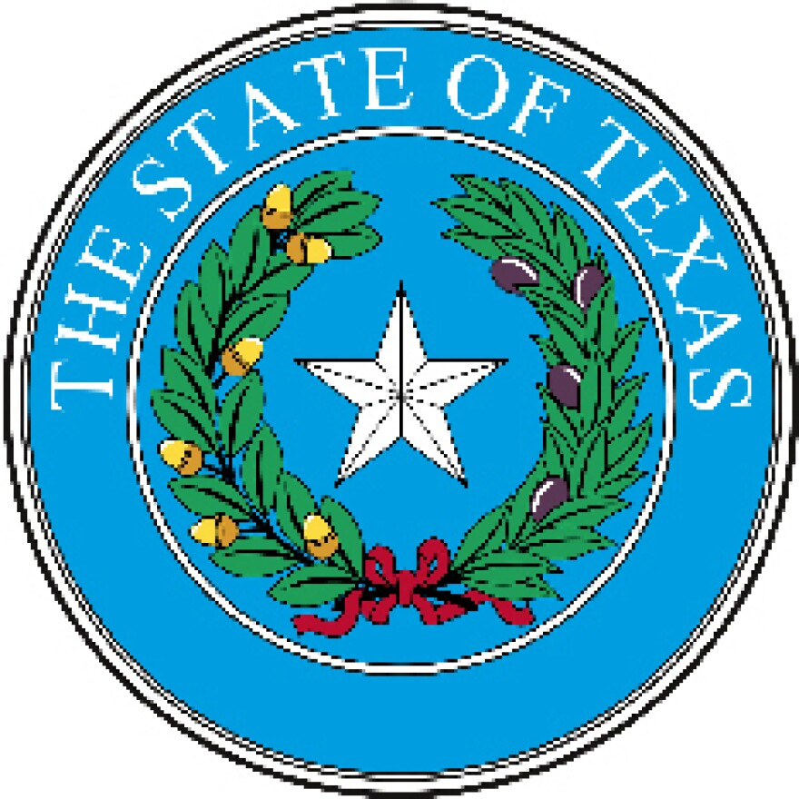 The official seal of Texas.