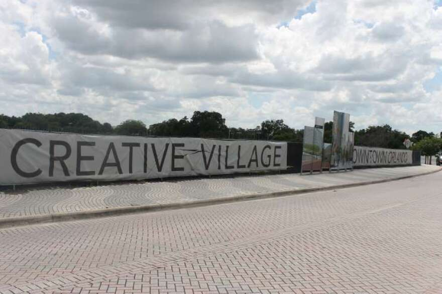 Creative Village, the site of the proposed UCF downtown campus.