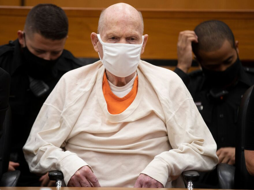 Joseph James DeAngelo, the Golden State Killer, was sentenced on Friday to life in prison after admitting to more than a dozen murders in the 1970s and '80s.