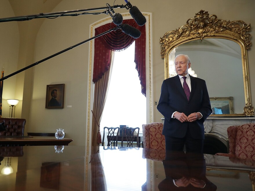 "Sen. Orrin Hatch's social media team offered many examples of ""proof of life"" on Monday night."
