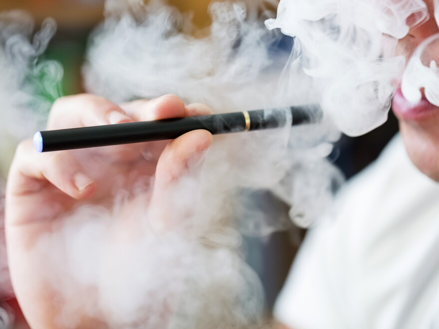 Secondhand exposure to vaping poses health risks, according to the Surgeon General.