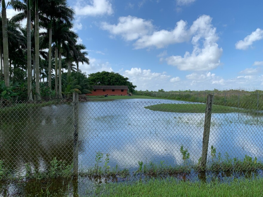 Even before Tropical Storm Eta, parts of western Miami-Dade County were flooded after a drenching wet season.