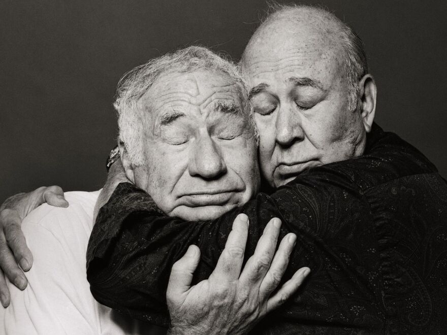 "Carl Reiner and Brooks teamed up as a comedy duo in 1960, creating such now-legendary skits as ""The 2,000-Year-Old Man."" ""Carl's still my best friend in the world,"" says Brooks."