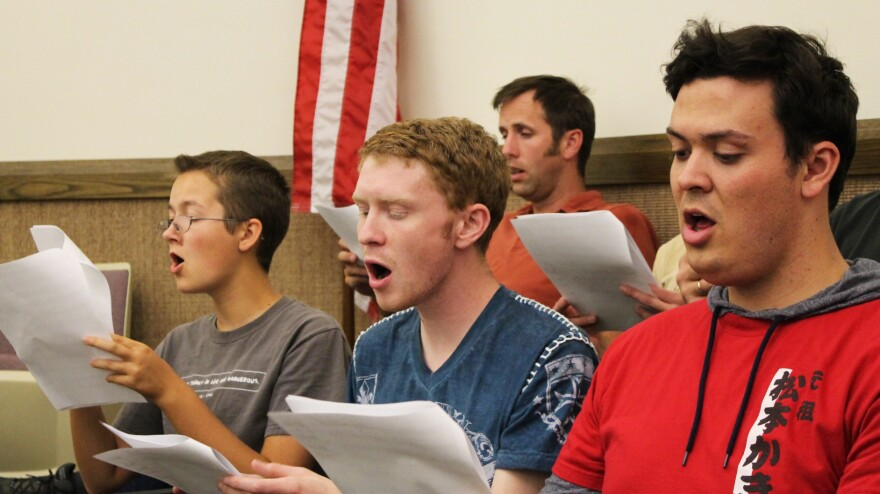 The One Voice Choir is not officially part of The Church of Jesus Christ of Latter-day Saints, but the ensemble is invited to perform this weekend at an LDS church-sponsored event intended to reach out to the LGBT community.