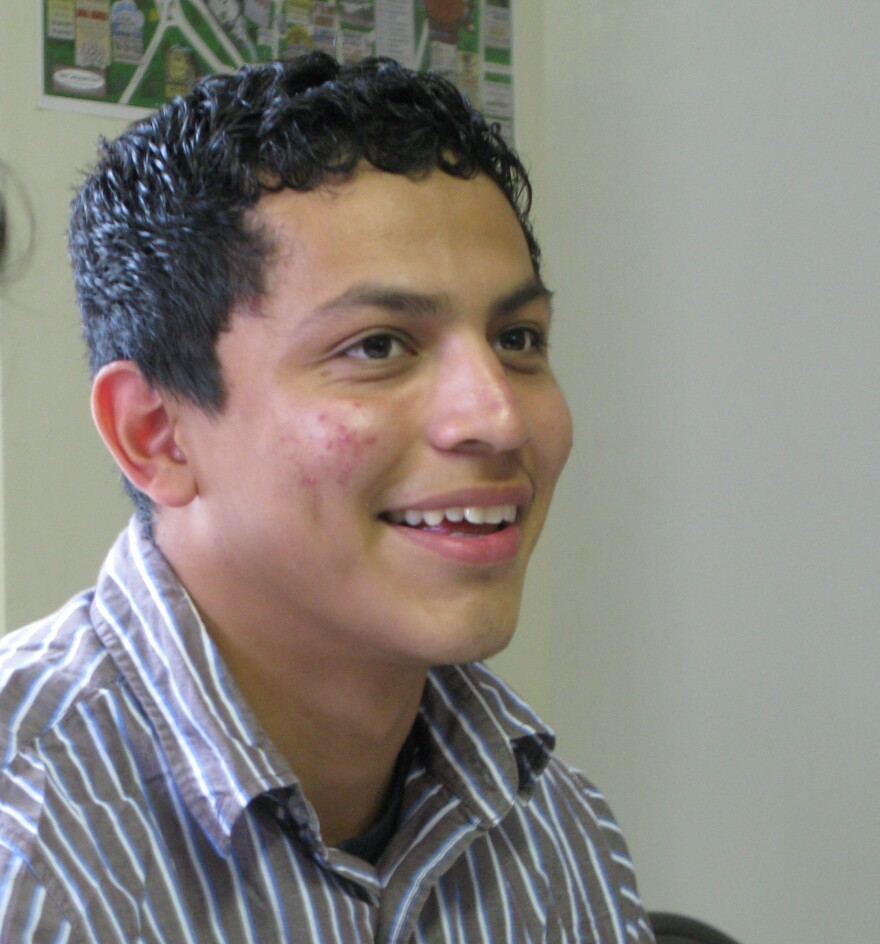 Yovany Diaz, a student at Freedom U, is applying for deferred status, though that won't afford him in-state tuition at Georgia universities.