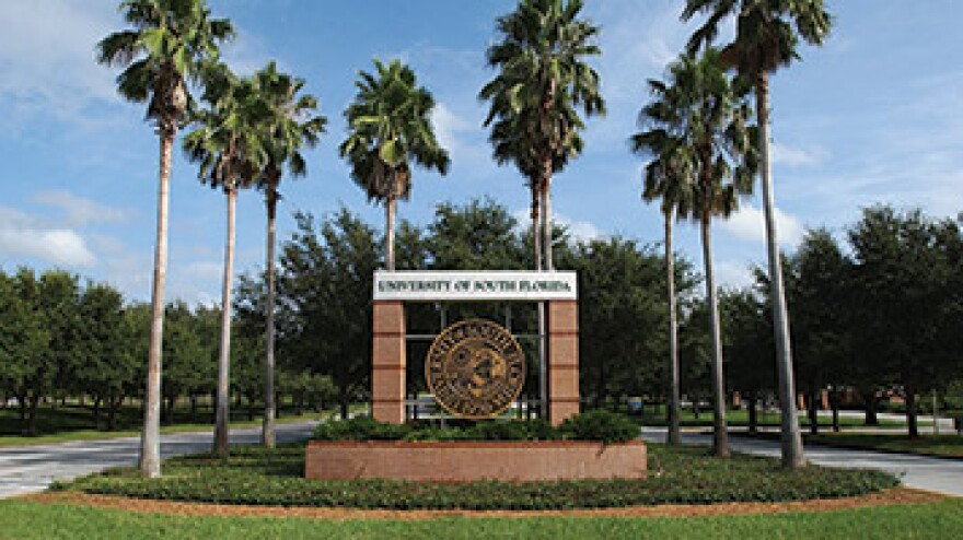 Front entrance of USF