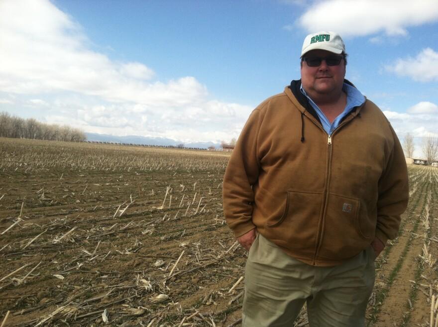 Farmer Kent Peppler