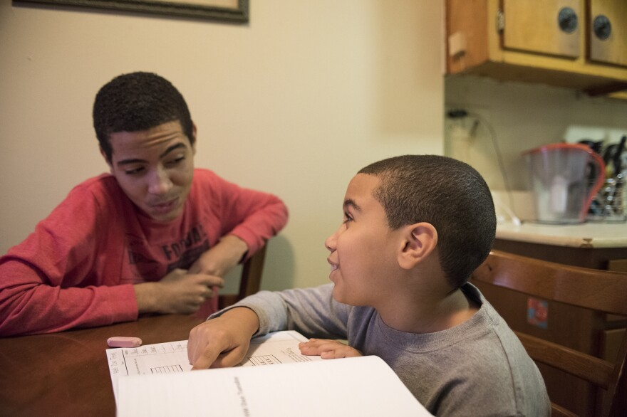 "In third grade at a ""no excuses"" charter school, 8-year-old Jeremy Peña still gets more homework than his older brother, Jann."