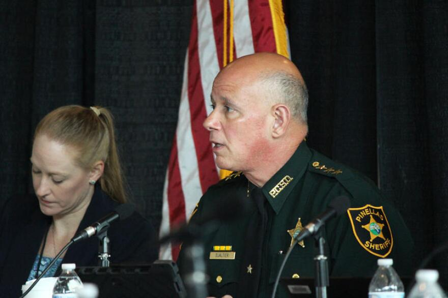 Pinellas County sheriff Bob Gualtieri chairs the Marjory Stoneman Douglas High School Public Safety Commission. The panel is meeting this week at the BB&T Center in Sunrise.