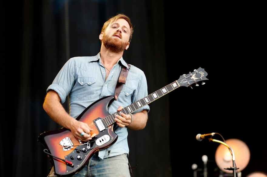 Dan Auerbach of The Black Keys performs in England last August. Along with five nominations for his band, Auerbach is nominated for Producer of the Year, Non-Classical division.