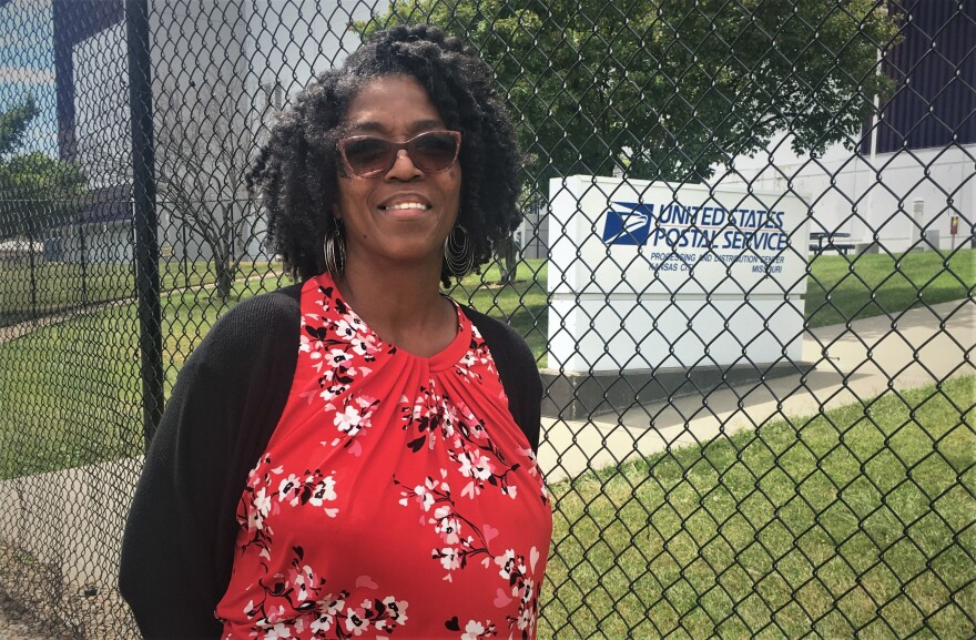 Antoinette Robinson is president of the American Postal Workers Union Local in greater Kansas City.