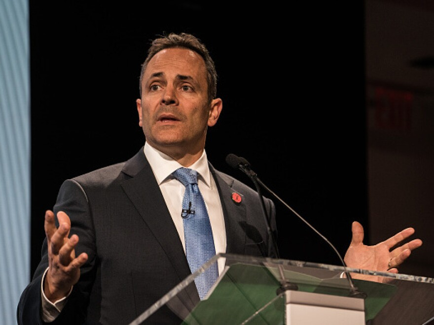 Matt Bevin, governor of Kentucky, has called on any lawmakers or government employees who have settled sexual harassment allegations to resign.