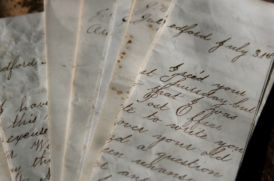 For almost 35 years, a Texas man has been collecting letters mailed around the lone star state during its years as a republic.