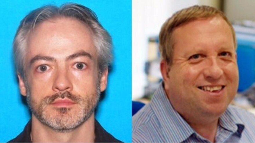 Wyndham Lathem (left) and Andrew Warren were arrested Friday in California, in connection with the July stabbing death of a Chicago man.