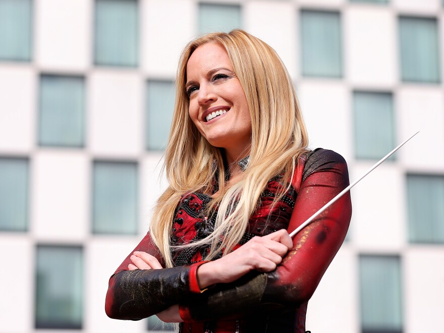 """""""It's my whole life, basically, in a short few minutes,"""" Eimear Noone says of the preparation needed to conduct the orchestra at the Academy Awards."""