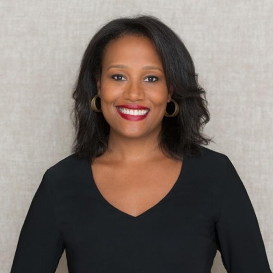 Alexis Clark, author of <em>Enemies in Love</em>