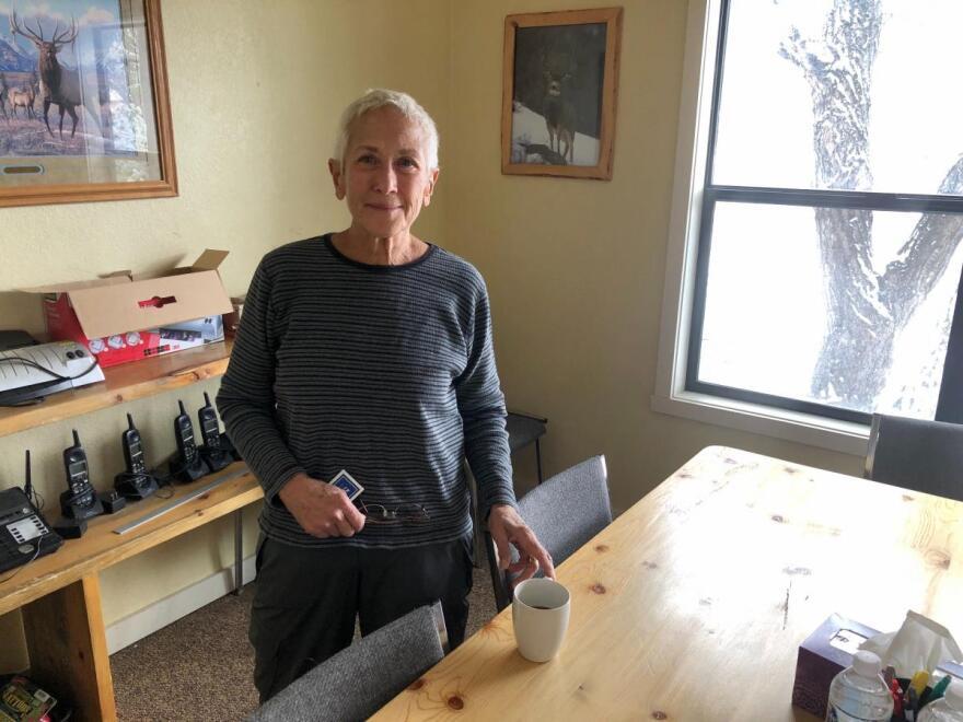 Michele Burdick is a local realtor in Dubois, Wyoming.