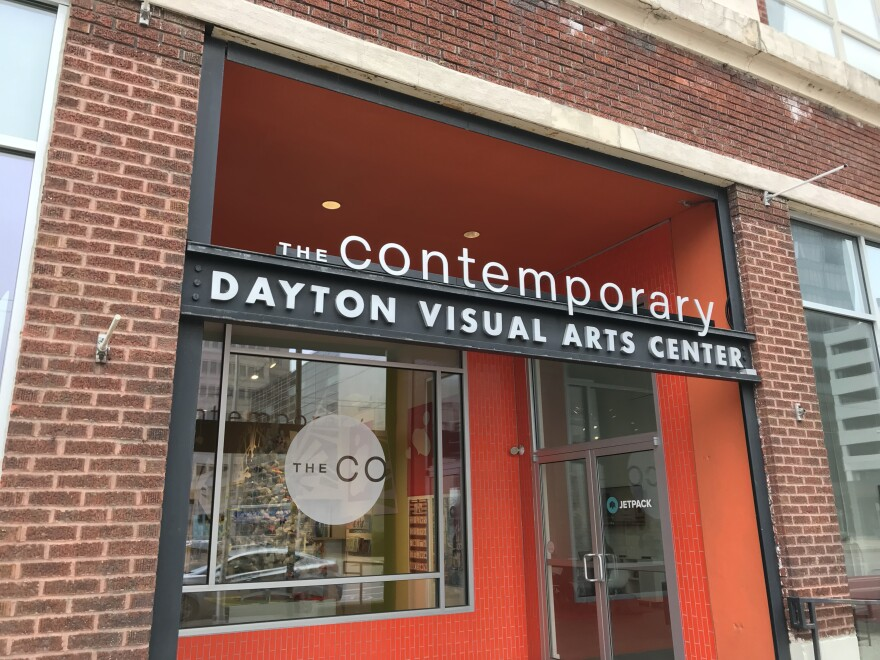 exterior of The Conteporary in downtown Dayton