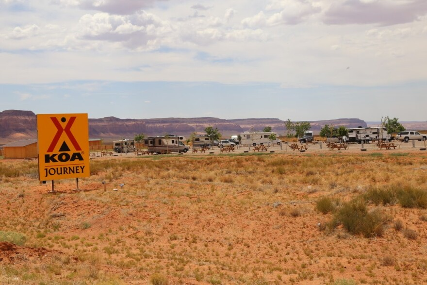 Photo of the campground