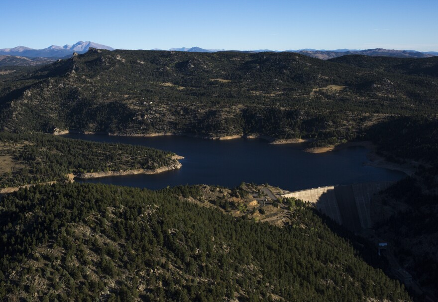 Gross Reservoir is a key piece of Denver Water's delivery system. A proposal to expand the dam that holds up the lake has galvanized opponents who live near it.