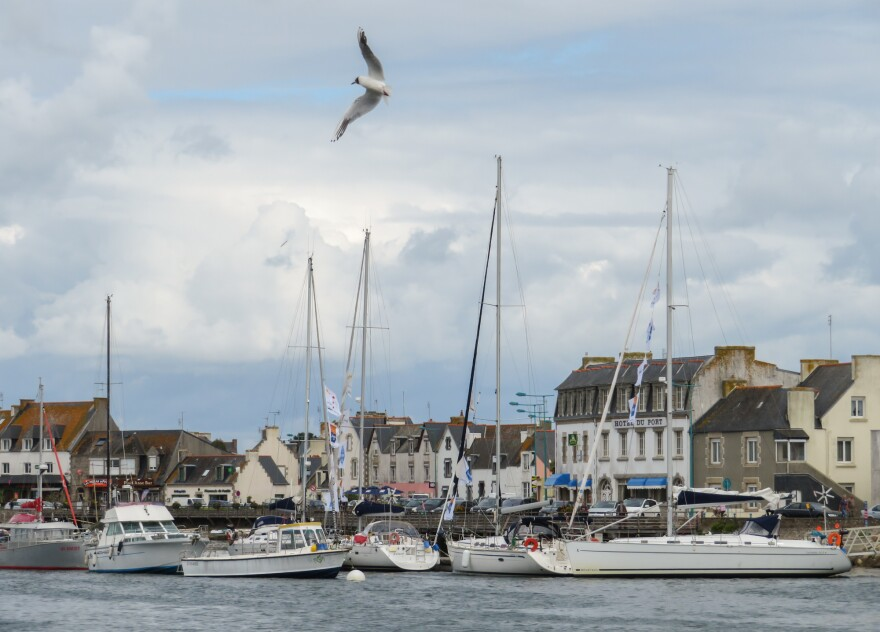 """Le Guilvinec is one of 22 ports in Brittany, France's main fishing region. It's a popular tourist destination, and its seafood restaurants feature fare fished from English waters. """"I think it's right for the French to expect a whole lot of change,"""" says Barrie Deas of the U.K.'s National Federation of Fishermen's Organisations."""