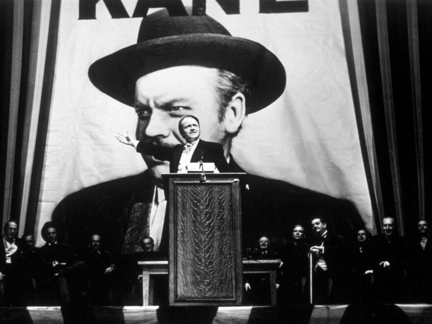 <strong></strong><em>Citizen Kane </em>was Orson Welles' first film and consistently tops lists as the best film of all time.