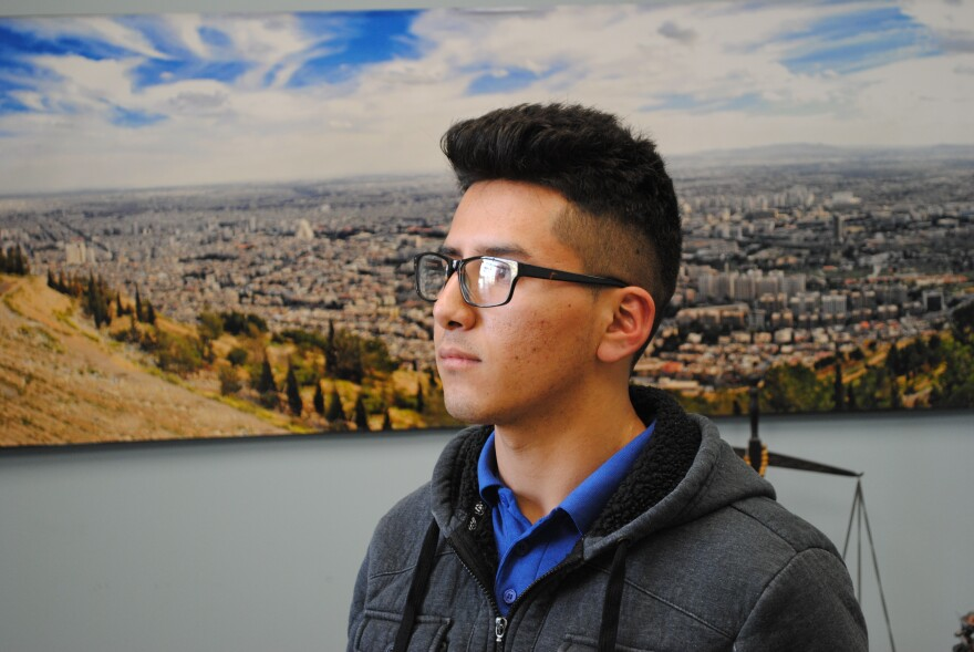 Javier is a star student at David H. Ponitz Career Technology Center. But he's not sure whether he can continue on to college. latino
