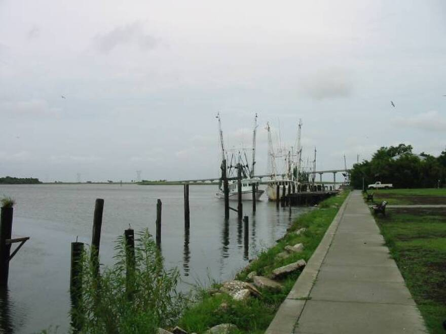 Apalachicola Bay was one of the gulf towns affected by the Deepwater Horizon oil spill.