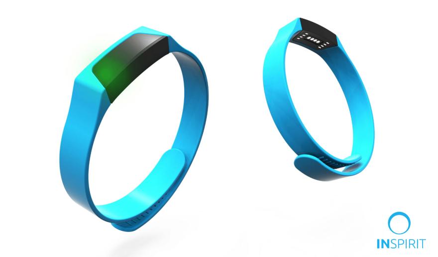 Photo of Inspirit wrist device