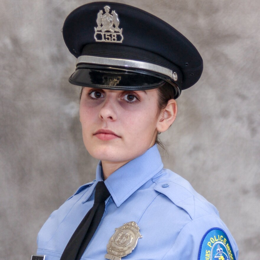 St. Louis Metropolitan Police Officer Katlyn Alix, shown here in a January 2017 photo, was killed by a fellow officer Jan. 24, 2019  in what police say was an accidental shooting.