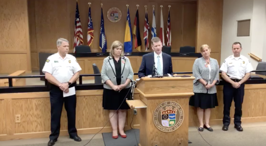 At a press conference Tuesday, Dayton Police revealed the shooter had a history of obsession with what they described as violent ideations.