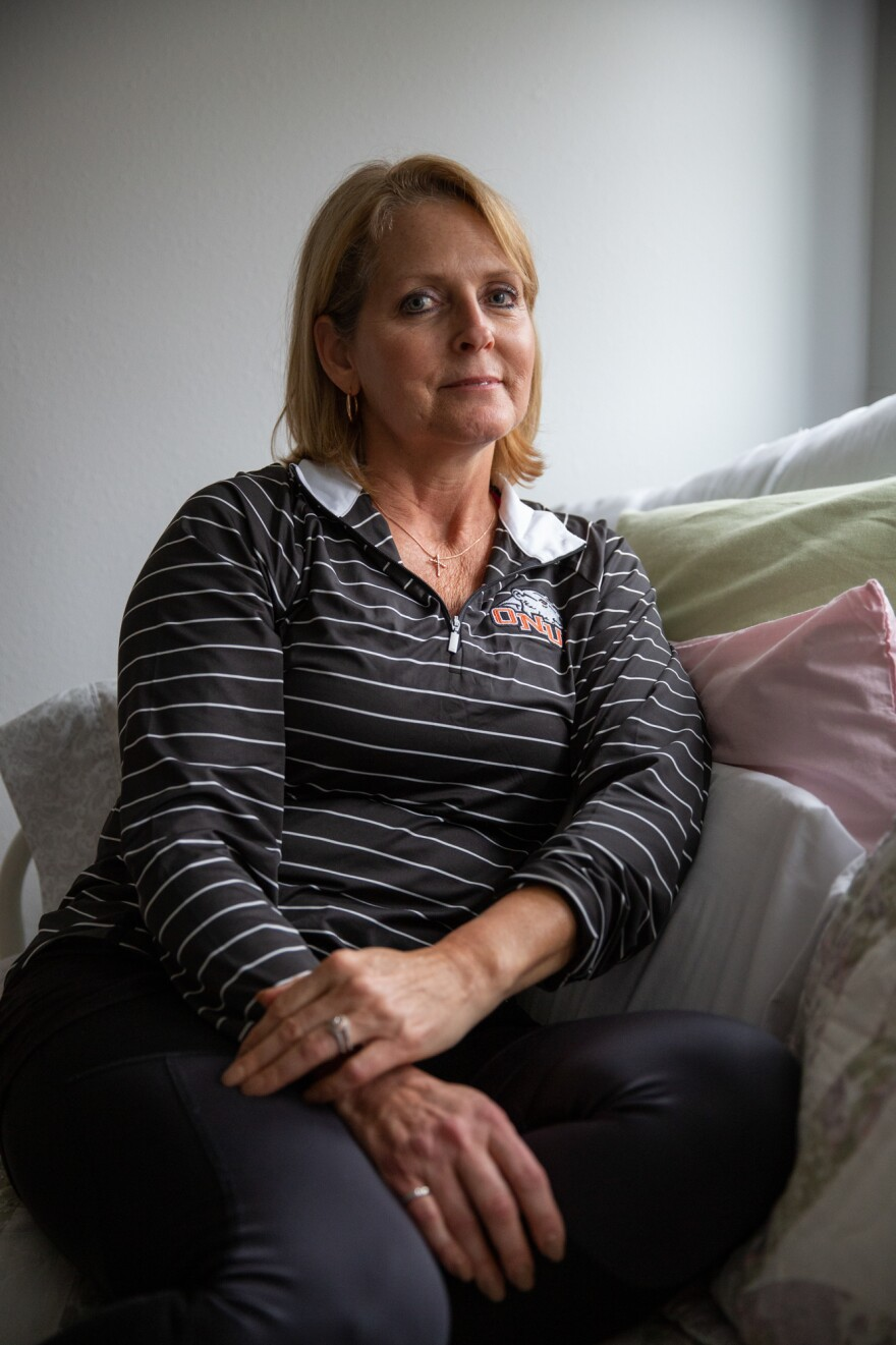 "Bobb was born with a malformation in her pelvis that led to pain. Over the span of two decades, she underwent more than a dozen major surgeries, yet none offered relief. ""When you get to that point, you can't see beyond the pain,"" Bobb says. ""You're just surviving."""
