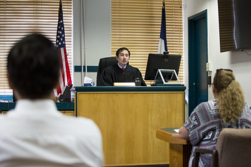 Travis County Justice of the Peace for Precinct 5 Judge Nick Chu