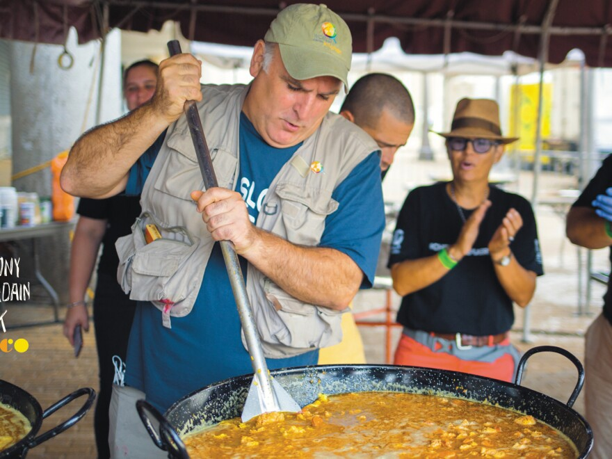 After Hurricane Maria struck Puerto Rico, José Andrés worked to feed those in need.
