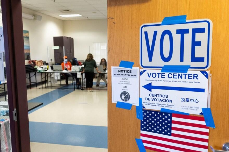 Voting place - Nixon CapRadio.jpg