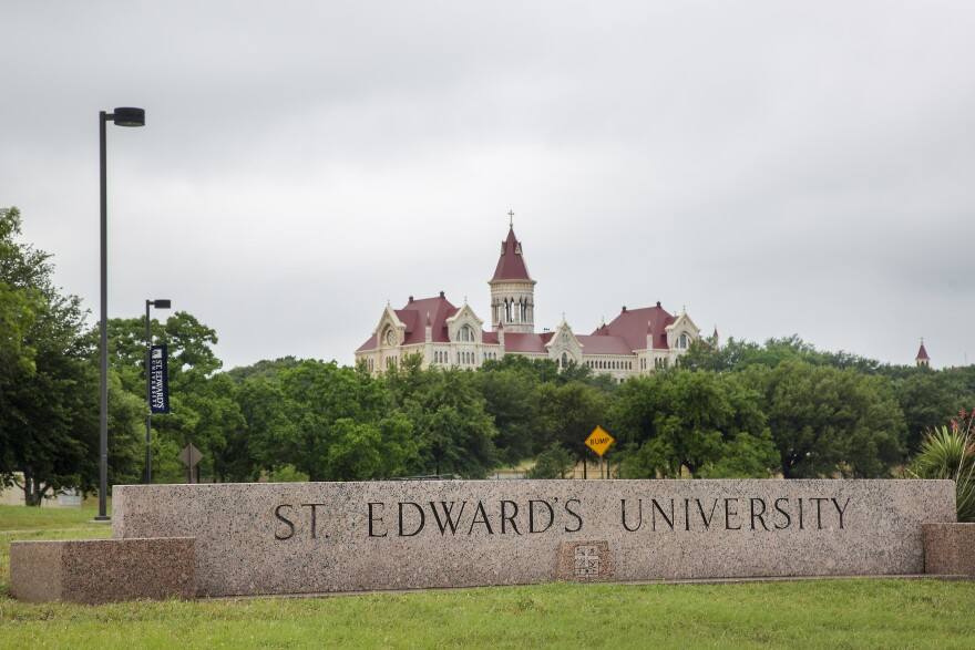 St. Edward's University President George Martin told the community the COVID-19 pandemic was forcing the Catholic university to make budget cuts.